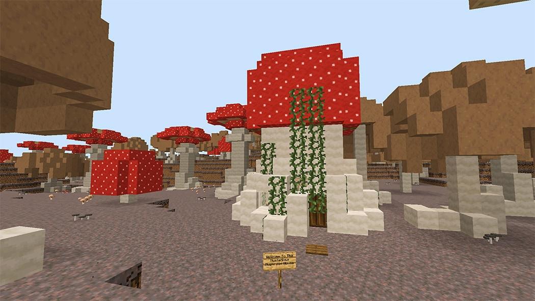 Mysterious Mushroom House