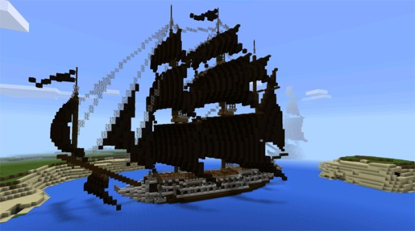 pirate ship minecraft # 25