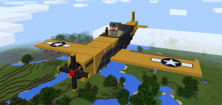 War Plane Add On Minecraft PE Mods Amp Addons