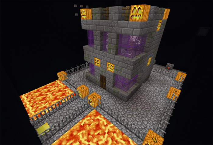 Mapa Find The Button - Halloween Edition [Minigame]