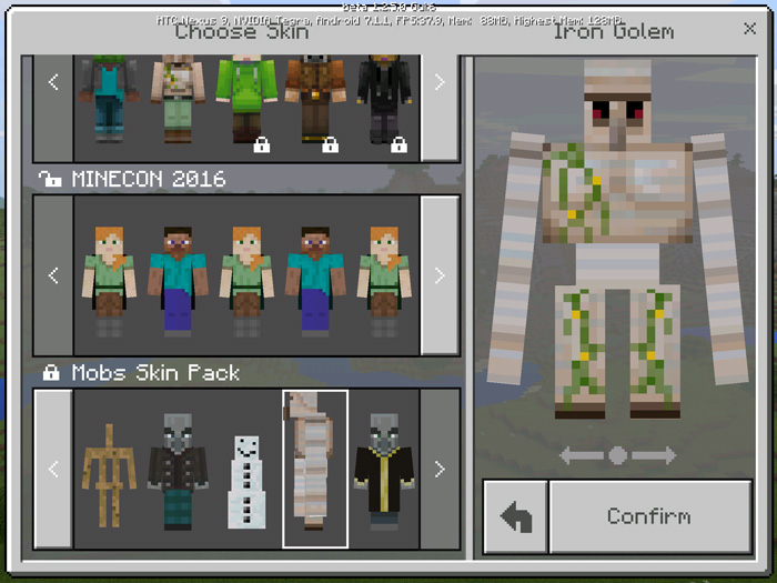Mobs Skin Pack (Beta Only) Para Minecraft