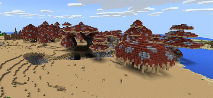 Mapa Advanced Island Para Minecraft (Terreno personalizado)