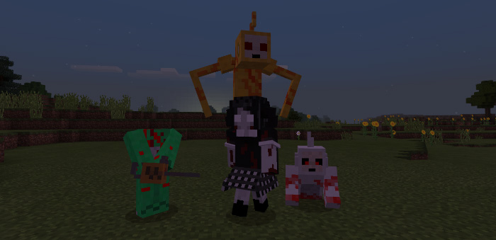 Slendytubbies Add On 19 Only Minecraft PE Mods Amp Addons