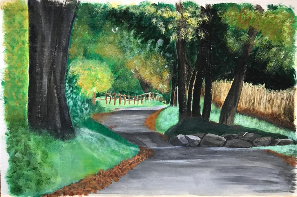 Cade cove painting