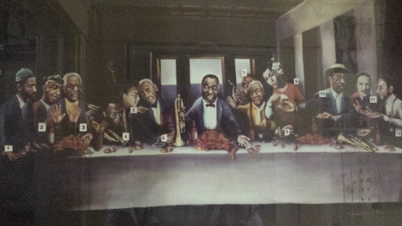 "Joshua Walshs ""The Last Session"" features Louis Armstrong as the Christ figure."