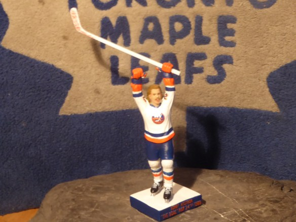 Bobby Nystrom Figurine Smashed in Malice