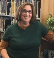 Librarian Laura Crunk