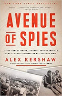 Book cover for Avenue of Spies by Alex Kershaw