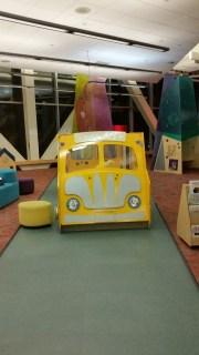 Play area school bus