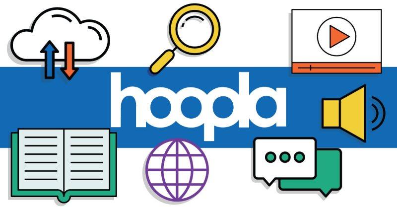 Colorful Hoopla logo