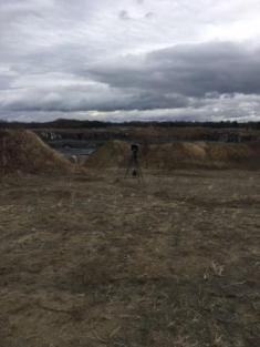 Camera Set Up to Monitor Quarry Blast