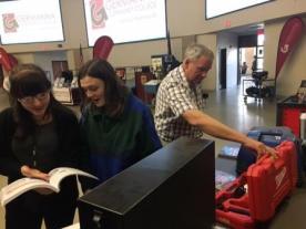 MCHS Students at Germanna With Teacher RJ Nobblitt