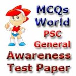 PSC General Awareness Test Paper-1