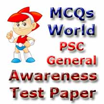 PSC General Awareness Test Paper