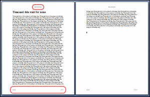 Microsoft Word Questions #3 – Why do you use headers & footers in documents?