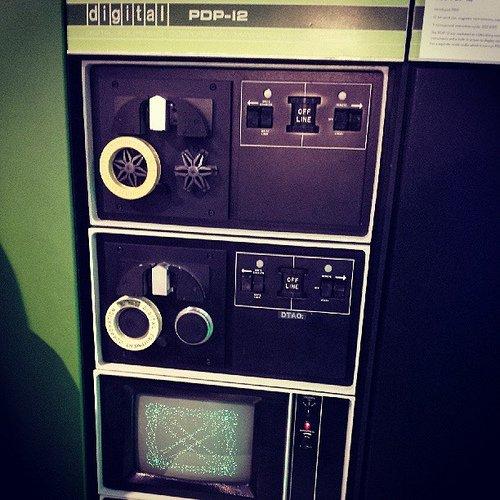 DEC PDP 12 photo
