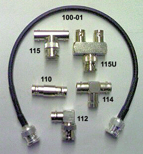 BNC Connectors for Co-Axial Cable