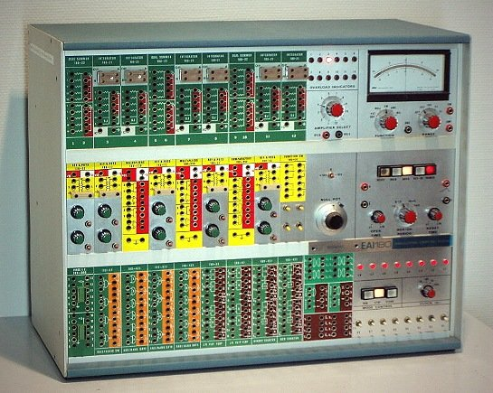 EAI 180 hybrid computer