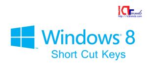 180 Windows 8 Shortcuts