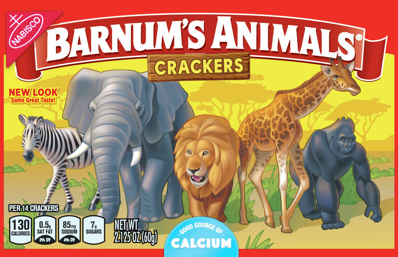 No More Cages: New Animal Cracker Packaging Sets The Mighty Beasts Free