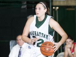 Monica Roeder became a member of the All-MAAC Third Team for the second time. Photo courtesty of gojaspers.com