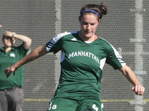 Aislinn McIlvenny has led the Jaspers to a 3-2 start. She leads the MAAC in goals scored per game. Photo courtesy of gojaspers.com.