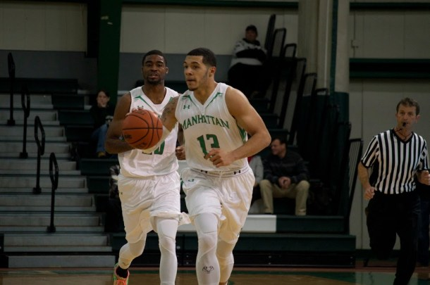 Andujar, a preseason second-team all-maac selection, has just average 10.8 points per game through the first five games of the season. Photo by Kevin Fuhrmann.