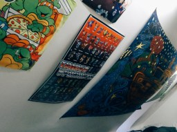 Matt Ketchum's room in Chrysostom Hall. Photo by Leah Cordova.