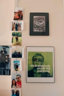 Jenn Ballingall's room in Lee Hall. Photo by Leah Cordova.
