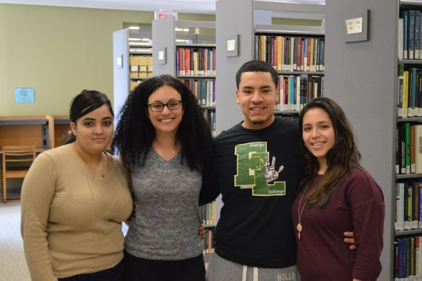 The student leaders of Fuerza Latina.  Kevin Fuhrmann/The Quadrangle