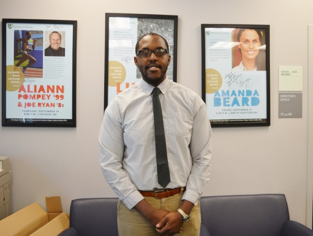 Michael Steele is the new assistant director of student activities. Daniel Ynfante/The Quadrangle