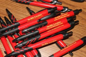 McRib Locator Pens