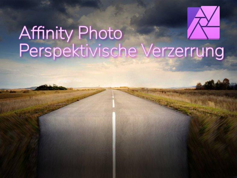 Affinity Photo - Perspektivische Verzerrung