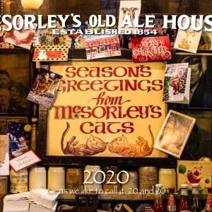 McSorley's 2020 Calendar