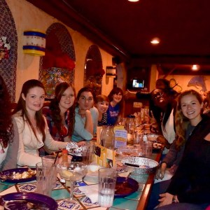 Image of Group at Restaurant