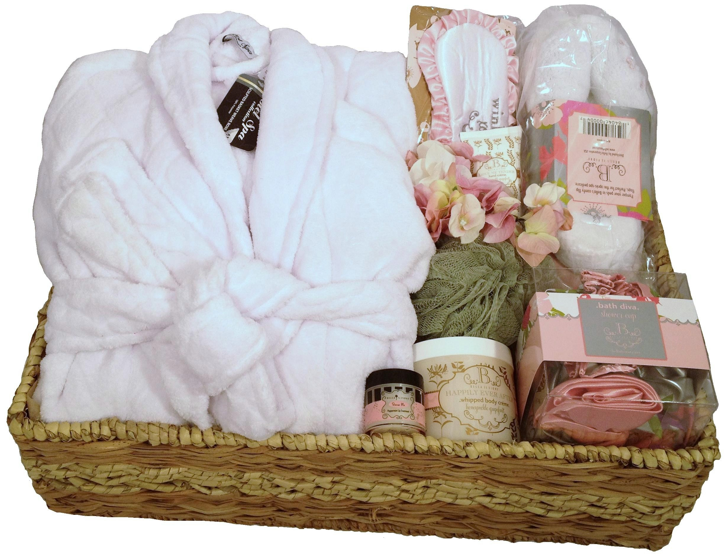 DELUXE HOTEL SPA GIFT BASKET