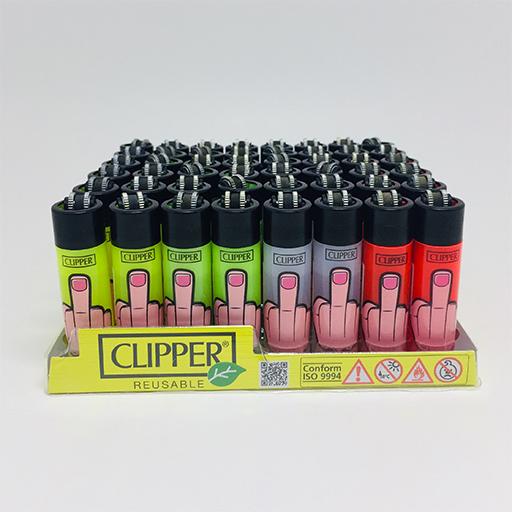 Clipper Pocket Çakmak (Parmak Baskılı)