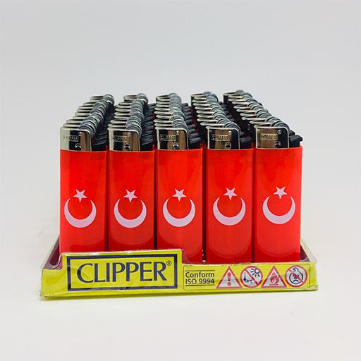 Clipper Brio Micro Baskılı Çakmak