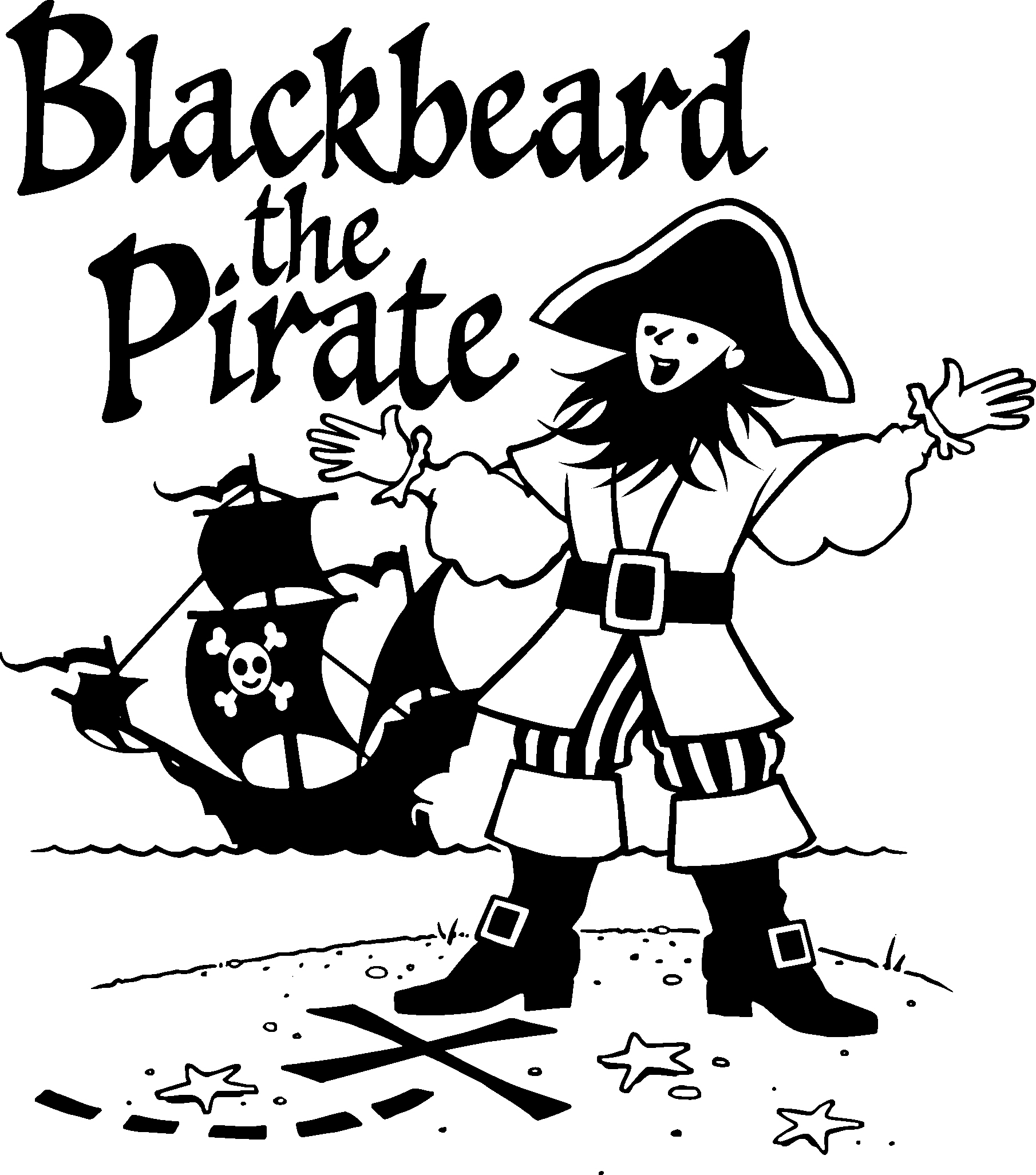 Blackbeard The Pirate Presenter Materials