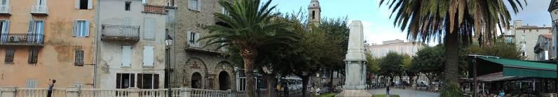Place de la Liberation, Sartene