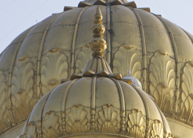 Golden Domes of the Bangla Sahib