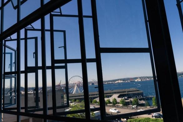 Market, Seattle, Pike Place Market, Reflection, Window