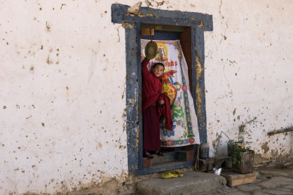 Pictures of monastery life in Bhutan by Mary Catherine Messner