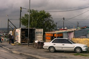 Pictures of suburban Cape Town, shot from the bus while In South Africa, Africa while on the 2016 Passport to Folk Art: South Africa trip with BJ Adventures