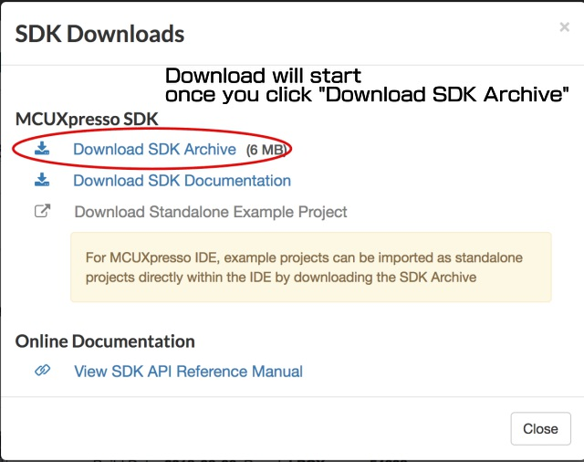 Download SDK