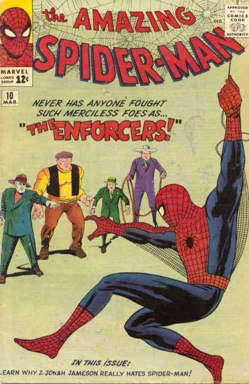 Spider-Man first appearance of Enforcers