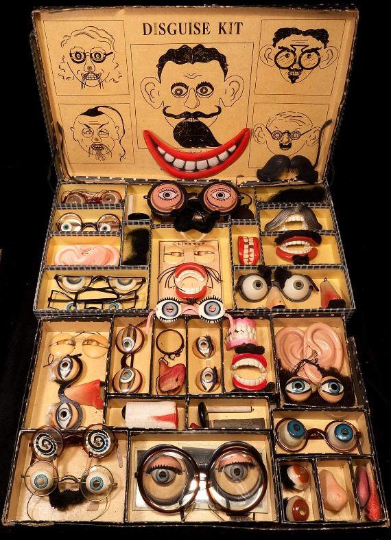 Vintage disguise kit