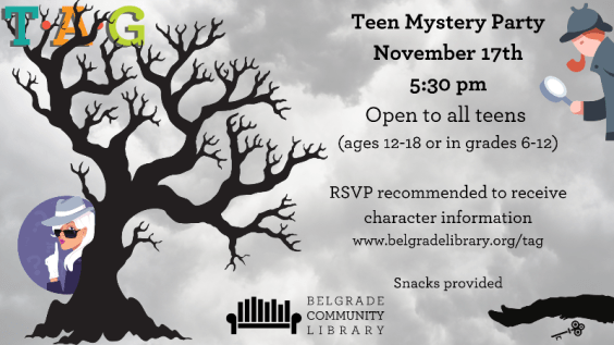 TAG Mystery Party