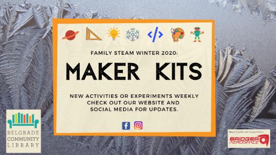 Winter Family STEAM Maker Kits