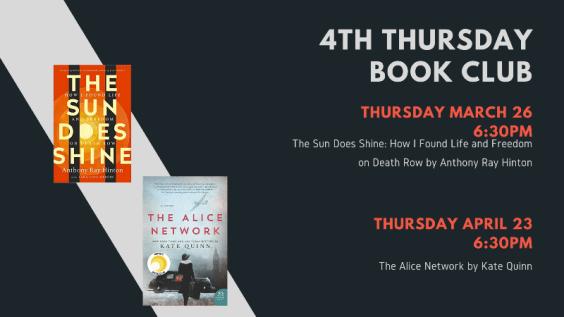 4th Thursday Book Club Picks